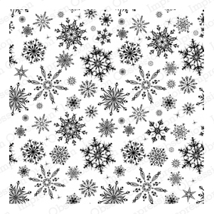 Cover-a-Card Snowflakes