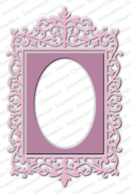 Ornate Rectangle Frame