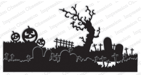 Halloween Landscape Layers