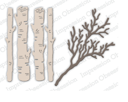 Birch Logs & Twigs