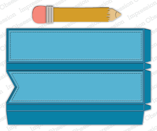 Pencil Favor Box