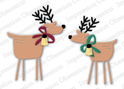 Two Folk Deer