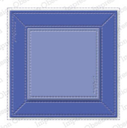 Stitched Square Frame